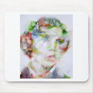 LEWIS CARROLL - watercolor portrait.1 Mouse Pad