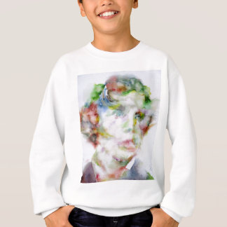 LEWIS CARROLL - watercolor portrait.1 Sweatshirt