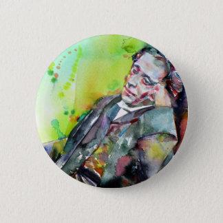 LEWIS CARROLL - watercolor portrait.2 2 Inch Round Button