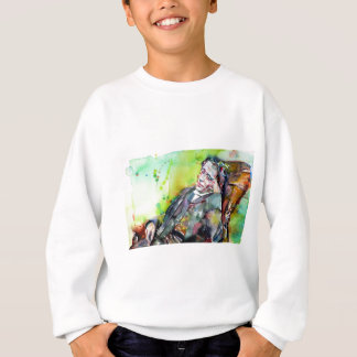 LEWIS CARROLL - watercolor portrait.2 Sweatshirt