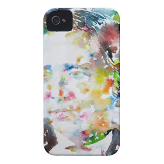 LEWIS CARROLL - watercolor portrait.3 iPhone 4 Cases