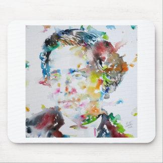 LEWIS CARROLL - watercolor portrait.3 Mouse Pad