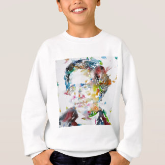 LEWIS CARROLL - watercolor portrait.3 Sweatshirt