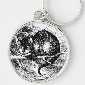 Lewis Carroll's Cheshire Cat Keychain