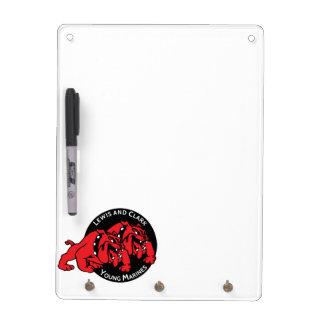 Lewis & Clark Young Marines Dry Erase Key Holder Dry Erase Whiteboard