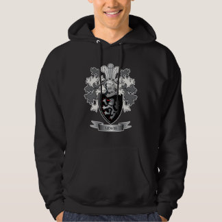 Lewis Family Crest Coat of Arms Hoodie