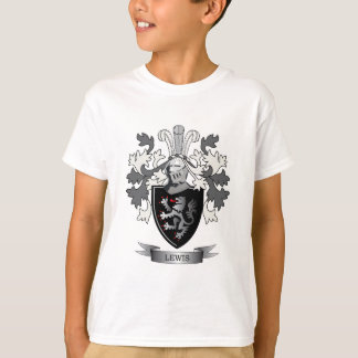 Lewis Family Crest Coat of Arms T-Shirt