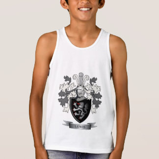 Lewis Family Crest Coat of Arms Tank Top