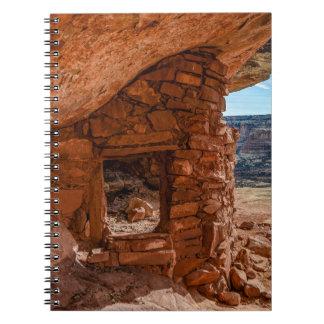 Lewis Lodge Anasazi Ruin - Cedar Mesa - Utah Notebook