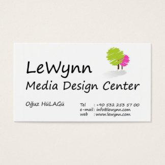 Lewynn Media Design Center Business Card