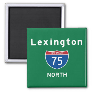 Lexington 75 magnet
