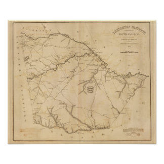 Lexington District, South Carolina Poster
