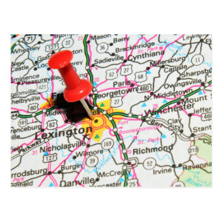 Lexington, Kentucky Postcard