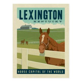 Lexington, KY | Horse Capital of the World Postcard