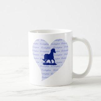 Lexington KY Horse Coffee Mug