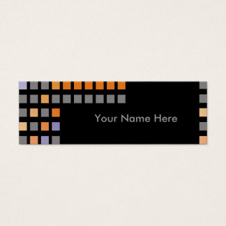 Lexis Business Cards-Skinny Mini Business Card