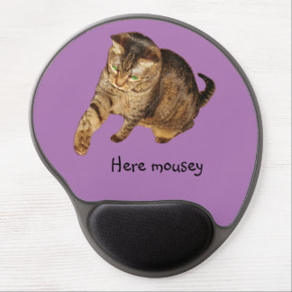 """Lexi's """"Here mousey"""" mouse pad"""