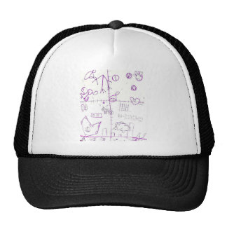 Lexographical Symbolmantic Grimoire by Luminosity Trucker Hat