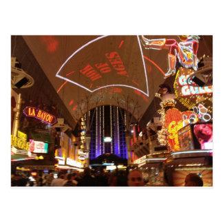 L'expérience de rue de Fremont - Las Vegas Cartes Postales
