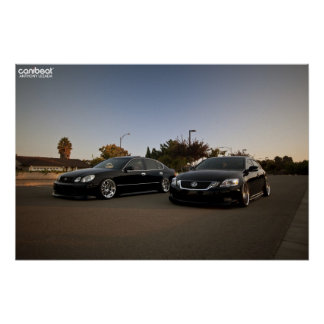 Lexus GS Brothers Poster