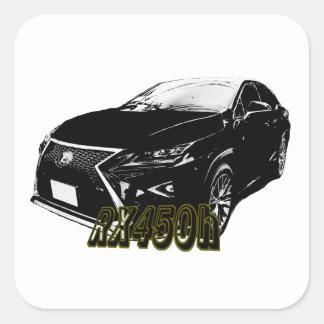 LEXUS RX 450h 350 Square Sticker