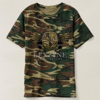 LexZyne BoomBap Crest Camouflage Tee