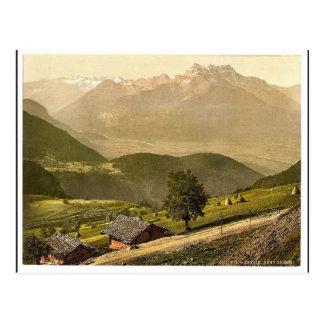 Leysin, Nand, Canton, Switzerland vintage Photochr Postcard