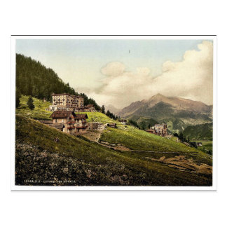 Leysin, the hotels, Nand, Canton of, Switzerland v Postcard