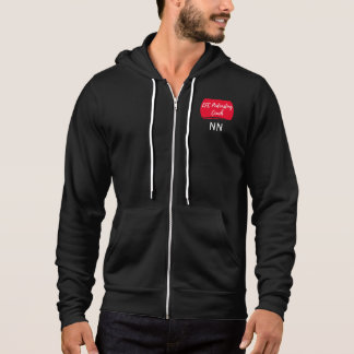 LFC Podcasting Couch Hoodie with Custom Initials