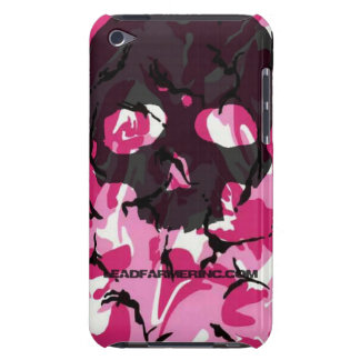 LFI Double Tap Skull Pink camo for the i-pod touch iPod Touch Cases