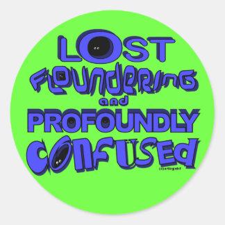 lfpc classic round sticker