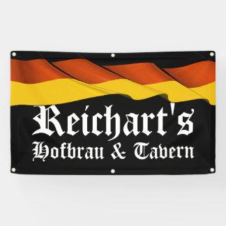 LG German Flag Tavern, Bar, Man Cave Banner