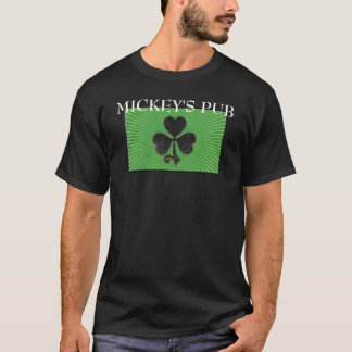 lg-irish-clover, MICKEY'S PUB T-Shirt