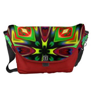 Lg. Messenger Bag in Kaleidoscope Design