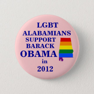LGBT Alabamians for Obama 2012 2 Inch Round Button