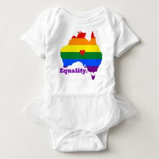 LGBT AUSTRALIA BABY BODYSUIT