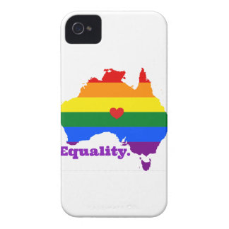 LGBT AUSTRALIA iPhone 4 Case-Mate CASE