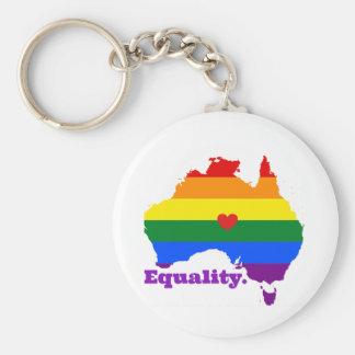 LGBT AUSTRALIA KEYCHAIN