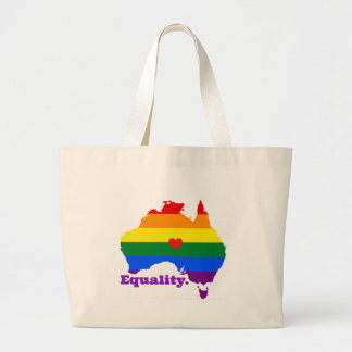 LGBT AUSTRALIA LARGE TOTE BAG