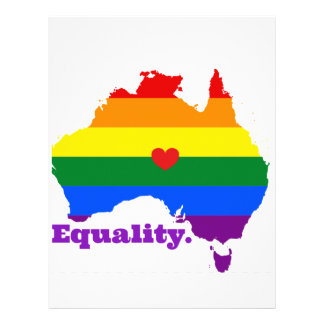 LGBT AUSTRALIA LETTERHEAD
