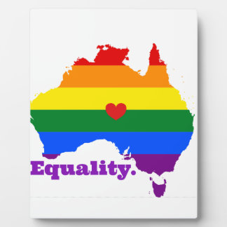 LGBT AUSTRALIA PLAQUE