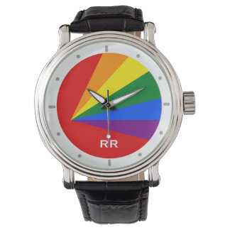 LGBT Color Rainbow Gay Pride Wristwatch