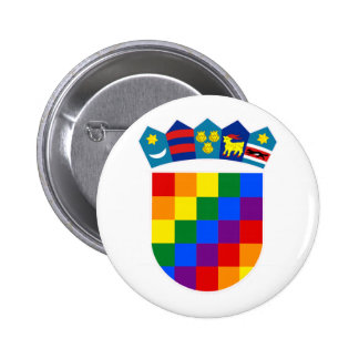 LGBT Croatia 2 Inch Round Button