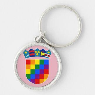 LGBT Croatia Keychain