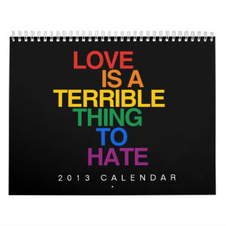 LGBT EQUALITY WALL CALENDARS