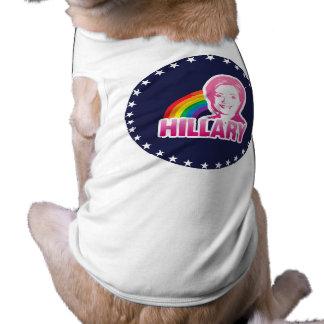 LGBT FOR HILLARY CLINTON 2016 DOG SHIRT
