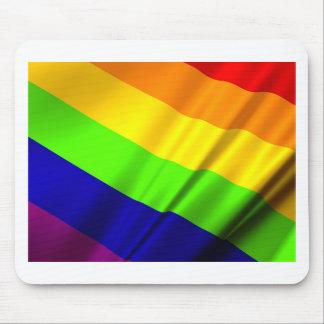 Lgbt Gay Flag Symbol Pride Rainbow Lesbian Love Mouse Pad