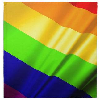 Lgbt Gay Flag Symbol Pride Rainbow Lesbian Love Napkin