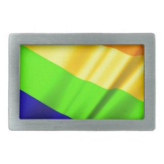 Lgbt Gay Flag Symbol Pride Rainbow Lesbian Love Rectangular Belt Buckles