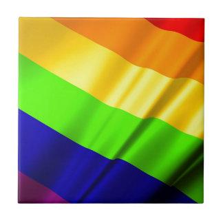 Lgbt Gay Flag Symbol Pride Rainbow Lesbian Love Tile
